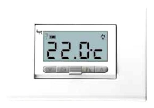 Cronotermostato digitale incasso condizionatore manuale for Bpt termostato istruzioni