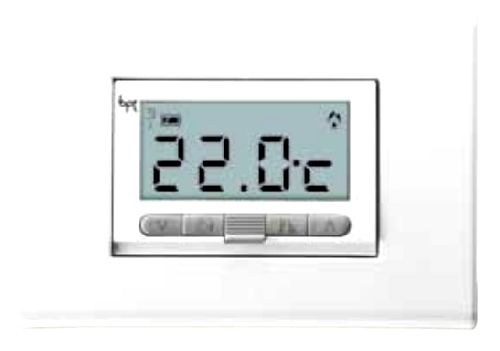 bpt 69400010 3 levels recessed digital thermostat ta 350