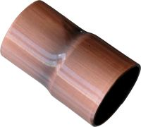 Rame anticato - tubo scatola ø 16mm