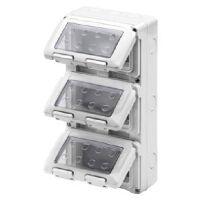 System - contenitore per apparecchi 12 posti IP55
