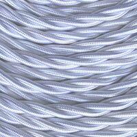 GI Gambarelli 10012 - Silk white twisted cable mm 3G1.5