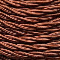 GI Gambarelli 10310 - silk brown twisted cable mm 3G1.5