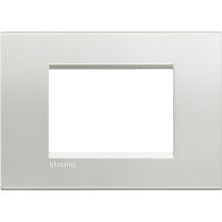 LL - cover plate 3P silver