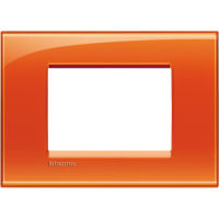 LL - cover plate 3P deep orange