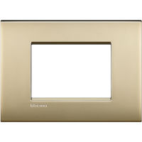 LL - cover plate 3P ice gold mat