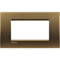 LL - cover plate 4P shiny bronze