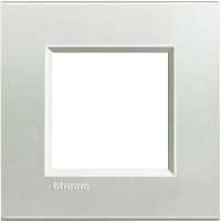 LL - cover plate 2P silver