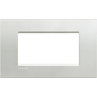 LL - cover plate 4P silver