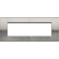LL - cover plate 7P brushed steel