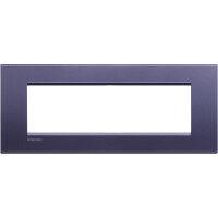 LivingLight - placca Silk quadra in metallo 7 posti club