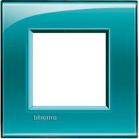 LL - cover plate 2P deep green