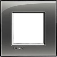 LivingLight - placca Kristall quadra in tecnopolimero 2 posti fumo di Londra