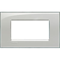 LL - cover plate 4P cold grey