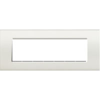 LL - cover plate 7P white