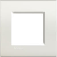 LL - cover plate 2P white