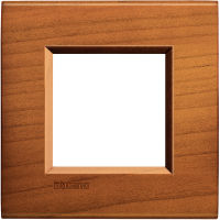 LivingLight - placca Essenze quadra in legno massello 2 posti ciliegio americano