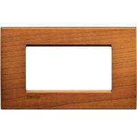 LivingLight - placca Essenze quadra in legno massello 4 posti ciliegio americano