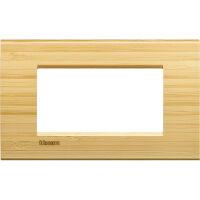 LivingLight - placca Essenze quadra in legno massello 4 posti bamboo