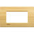LivingLight - placca Essenze quadra in legno massello 4 posti bamboo