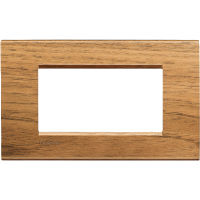 LL - cover plate 4P walnut
