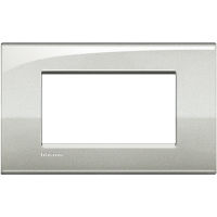 LL - cover plate 4P moonlight silver