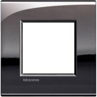LivingLight Air - placca Lucenti in metallo 2 posti peltro