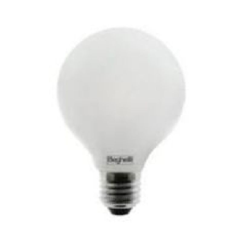 Lampada led globo opale 120 e27 12w 230v 2700k zafiroled for Lampada globo