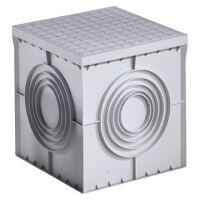 Pozzetto quadrato 300 X 300 X 300 con coperchio