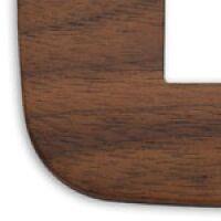 Arke - placca Round Wood in legno 4 posti noce