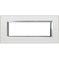 cover plate 6m silver