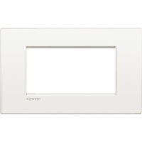 LL - cover plate 4P pure white