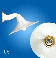 Applique Godet ø280 with porcelain arm