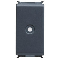 1 GANG CORD-OUTLET 4-8MM BLANKING MODULE