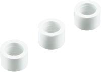 Distanziale plastico per niples da illuminazione