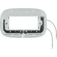 Axolute - supporto luminoso a 4 posti con viti ellittico