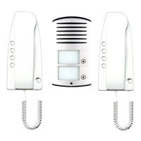 BTicino 363221 - kit audio bifamiliare Sprint - Linea 2000