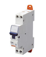 Interruttore magnetotermico 1P+N C06 4,5KA 1M MTC45