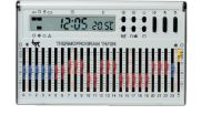 Cronotermostato da parete TH/124.01 BB bianco