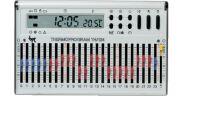 Cronotermostato da parete bianco TH/124.01 BB