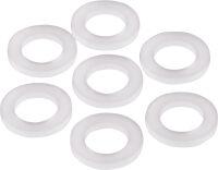 Rondelle in plastica per niples da illuminazione