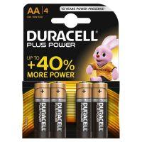 Batterie Duracell Plus Power - AA (MN1500/LR6) Mignon 4St.