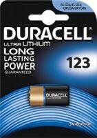 Pila Ultra Lithium 123 litio 3V - Blister 1 pezzo