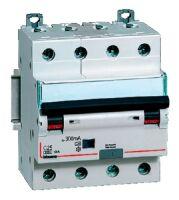Differenziale magnetotermico 4P C10 Idn 0,03A 6KA AC 4M BTIDIN60