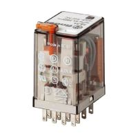 Relè industriale 4NA/NC 012V 7A 55.34