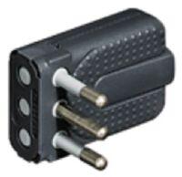 Corner plug 1.A grey