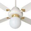 Kit luce per agitatore d'aria da soffitto per lampade 150W NORDIK DECOR