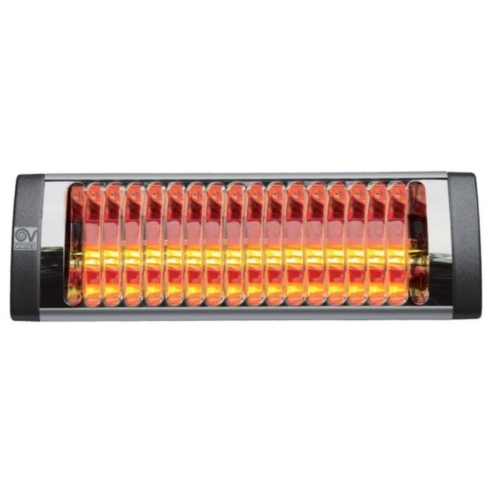 Vortice 70065 - Riscaldatore a raggi infrarossi THERMOLOGIKA SOLEIL PLUS