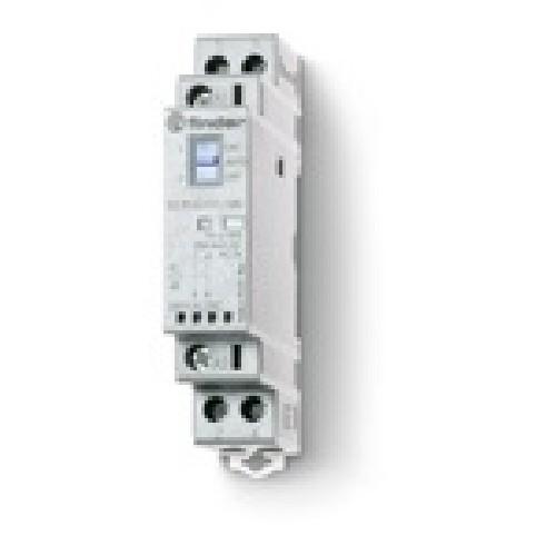Schema Elettrico Contattore E Salvamotore : Finder  contattore v ac dc a na nc m