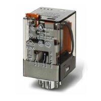 Relè industriale 2NA/NC 110V 10A 60.12