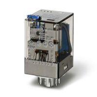 Relè industriale 3NA/NC 12V AC 10A 60.13